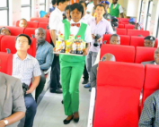 Inauguration train nigéria