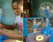 Ventilateur à pile