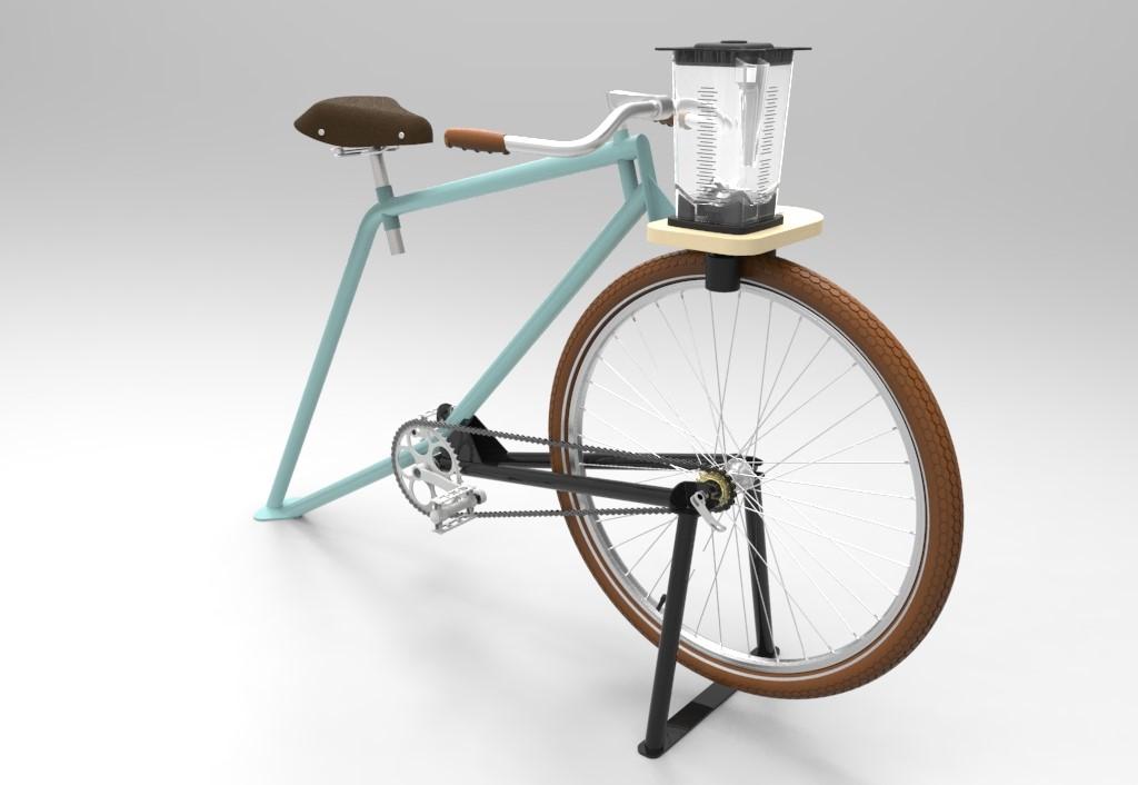 La Smoocyclette, vélo-smoothies fabriqué en France, lance sa campagne de crowdfunding !