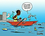 pollution de la lagune Ebrié