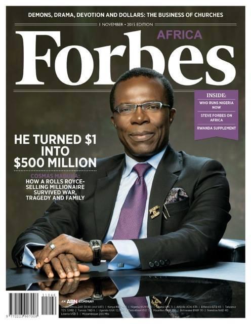 Cosmas Maduka, Le mécanicien africain qui a transformé $1 en $500 million