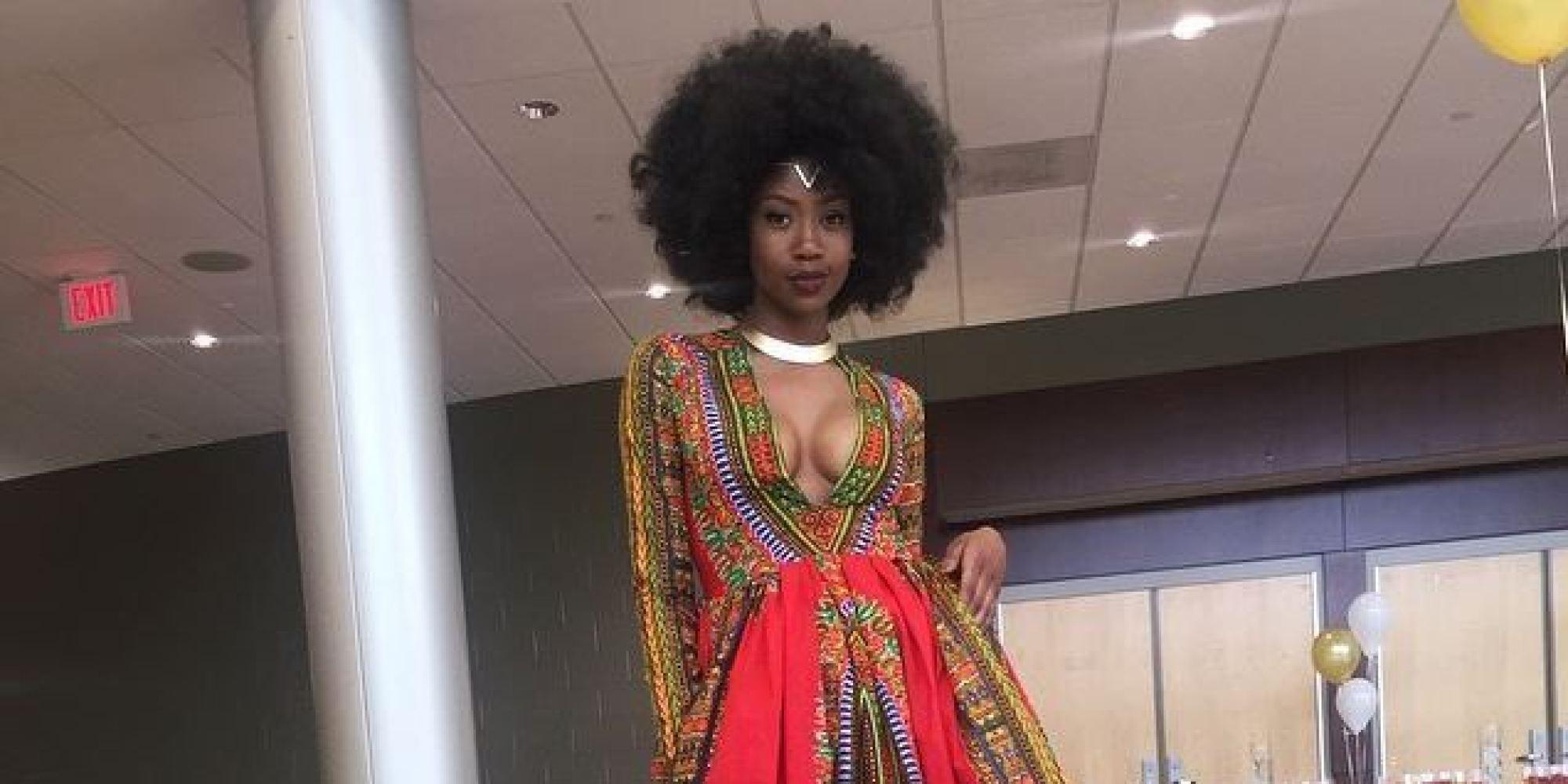 Cette lycéenne réalise sa robe pour le bal de promo et affole les internautes