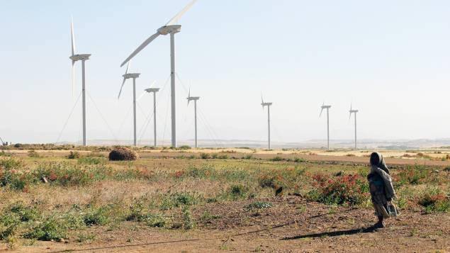 Ethiopie: le plus grand parc d'éoliennes en Afrique(video)