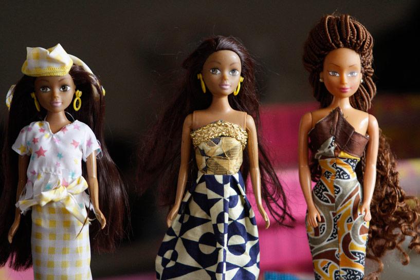 Les poupées Queens of Africa de Taofick Okoya qui cartonnent