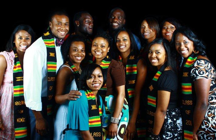 La jeunesse africaine sourire de l'avenir