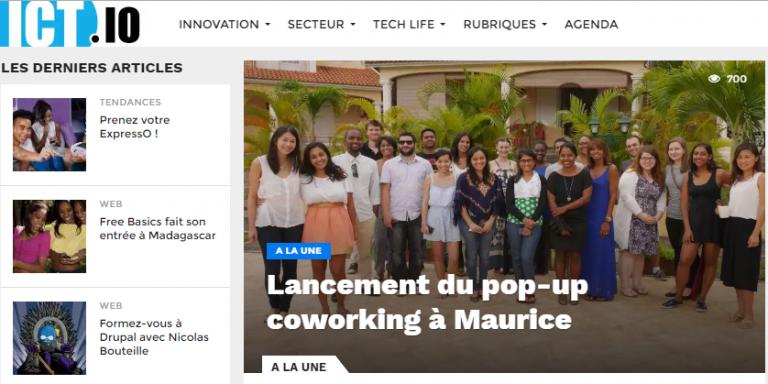 ICT.IO: la startup qui parle des startups dans l'Océan Indien