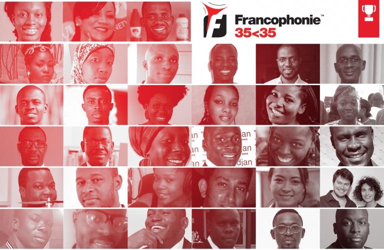 Les 35 jeunes innovateurs qui font bouger l'espace francophone 1ère éd
