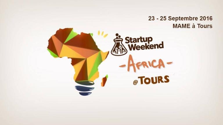 Participer au Startup Weekend Africa: RDV du 23 au 25 Sept à Tours(France)