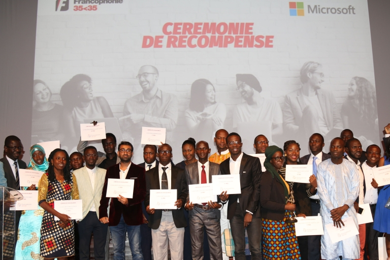 Le Tchadien Didier Lalaye sacré grand vainqueur de la 1ère édition des Prix Jeunesse de la Francophonie 35<35