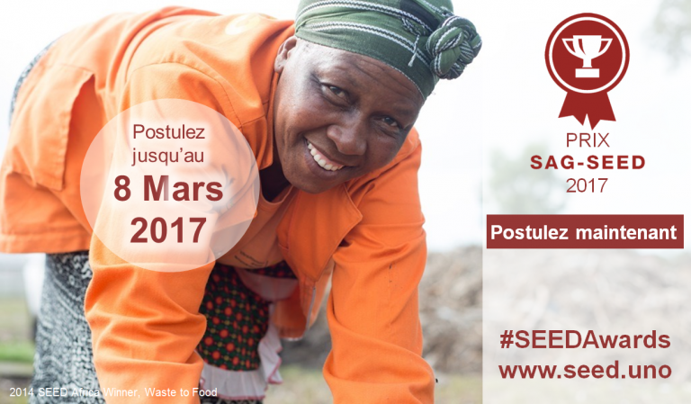 Prix SWITCH Africa Green-SEED 2017