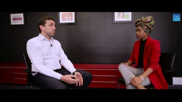 Afrique Jeune Entrepreneur à la rencontre du Codirecteur général de VivaTech