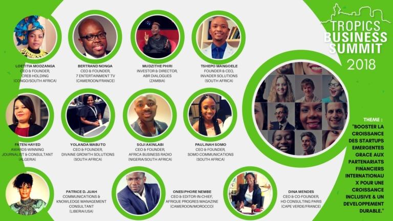 TROPICS BUSINESS SUMMIT 2018 | Speakers confirmés | Johannesburg